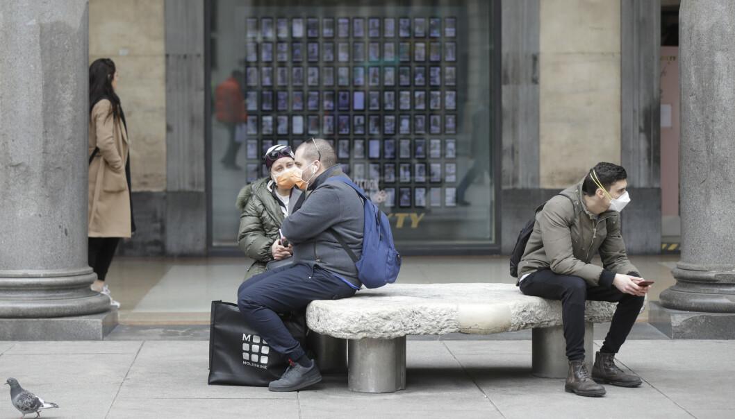 Skoler og universiteter i Italia blir stengt til midten av mars for å hindre spredning av koronaviruset. Foto: AP / NTB scanpix