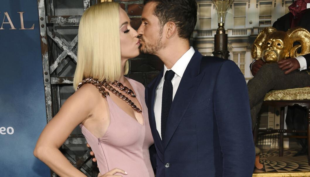 <strong>VENTER BARN:</strong> Katy Perry og Orlando Bloom blir foreldre. Foto: NTB Scanpix