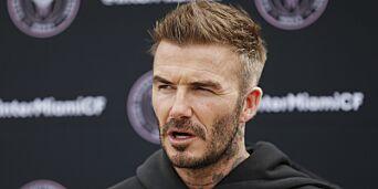 image: Beckham i trøbbel