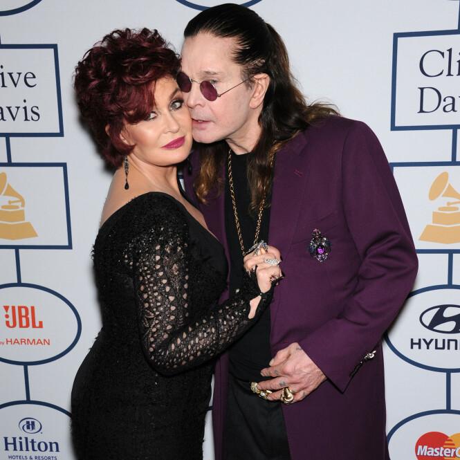 <strong>TURBULENT:</strong> Ekteskapet mellom Sharon og Ozzy Osbourne har vært svært turbulent. Rockerens mange sidesprang har spesielt vært en tung påkjenning. Foto: NTB scanpix