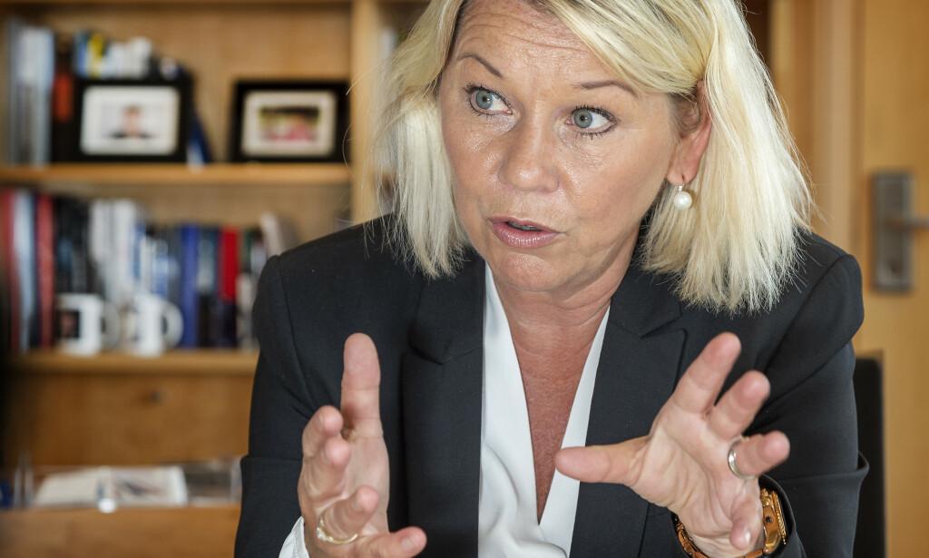 VIL STRAMME INN: Regjeringen vil blant annet kunne gi livtidsforbud mot å ha au pair.    Foto: Hans Arne Vedlog / Dagbladet