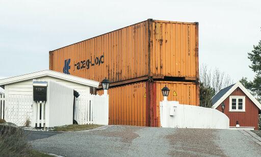 image: Fjerner containermur mot Røkke-eiendom