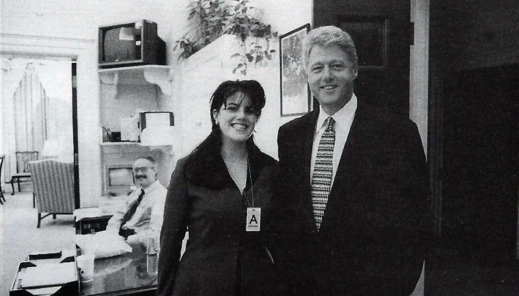 USAs tidligere president Bill Clinton forklarer affæren med Monica Lewinsky med at det hjalp ham å kontrollere angst. Foto: eatforum.org / NTB scanpix/Ap.