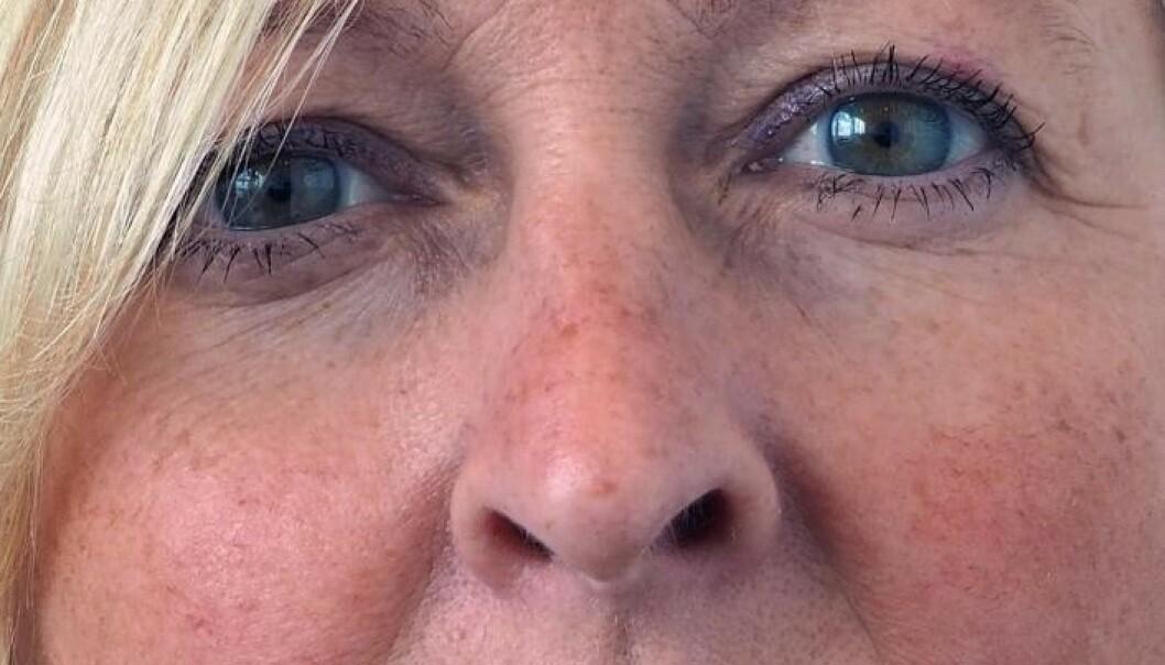 Trude (56) har fått coronaviruset