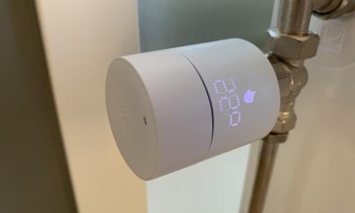 Tado-ventilen erstatter den nåværende på radiatoren din. Foto: Martin Kynningsrud Størbu