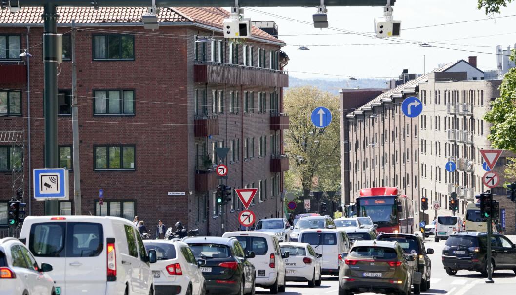 <strong>BOMPENGER:</strong> Ferien er snart over. Nå venter flere bilister på at bomregninga skal dette ned i postkassa. Foto: Fredrik Hagen/NTB scanpix