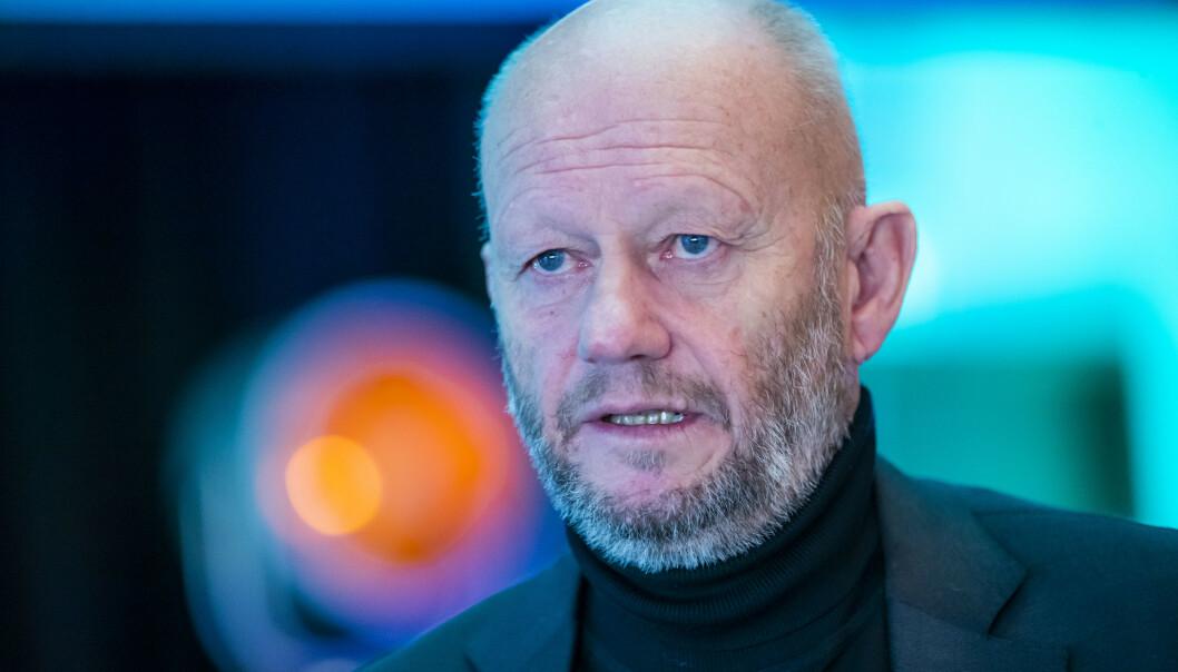 <strong>PÅ PAUSE:</strong> Norsk Industri-direktør Stein Lier-Hansen sier landets industribedrifter har svært lite å gi i årets lønnsoppgjør. Oppgjøret, som ble satt på pause på grunn av coronapandemien, starter opp igjen 3. august.  Foto: Håkon Mosvold Larsen / NTB scanpix