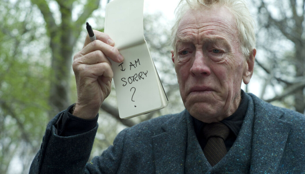 SKUESPILLER: Max von Sydow i «Extremely Loud And Incredibly Close» fra 2011. Foto: NTB Scanpix