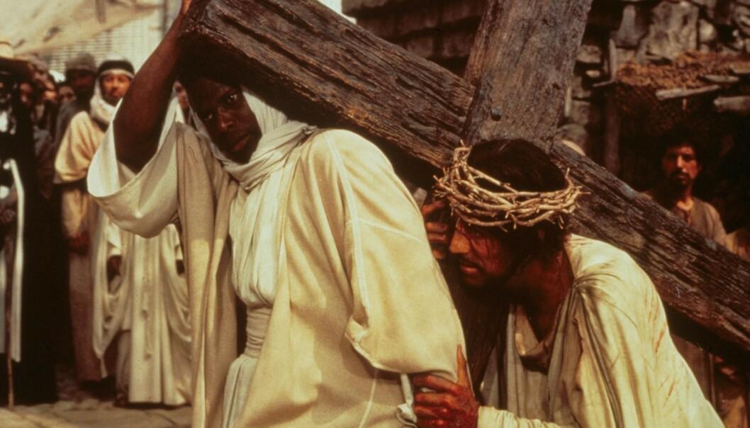JESUS: Max von Sydow fikk sitt internasjonale gjennombrudd i rollen som Jesus i «The Greatest Story Ever Told». Foto: NTB Scanpix