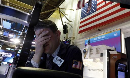 image: Handelen stanset på Wall Street