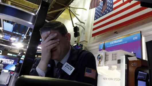 Handelen stanset på Wall Street