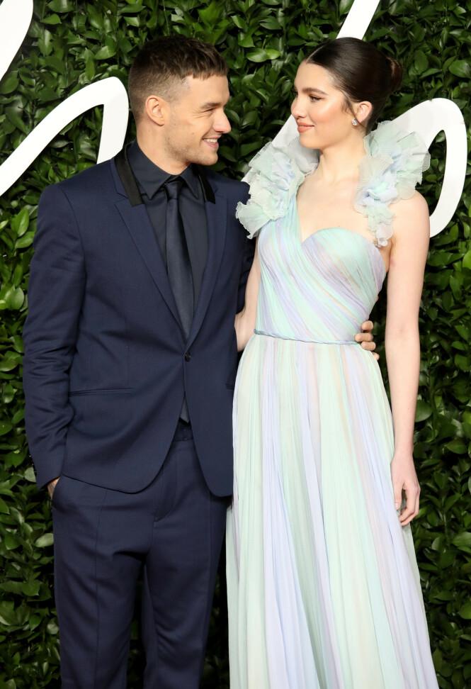 <strong>SAMMEN IGJEN:</strong> Liam Payne og Maya Henry er sammen igjen etter at det ble hevdet at de hadde gått hver til sitt. Foto: NTB scanpix