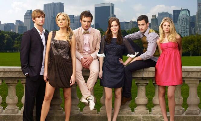 POPULÆR GJENG: Et par av skuespillerne hadde noen års erfaring bak seg fra før av, men da «Gossip Girl» kom på skjermen, vanket det stjernestatus på samtlige. FOTO: The CW