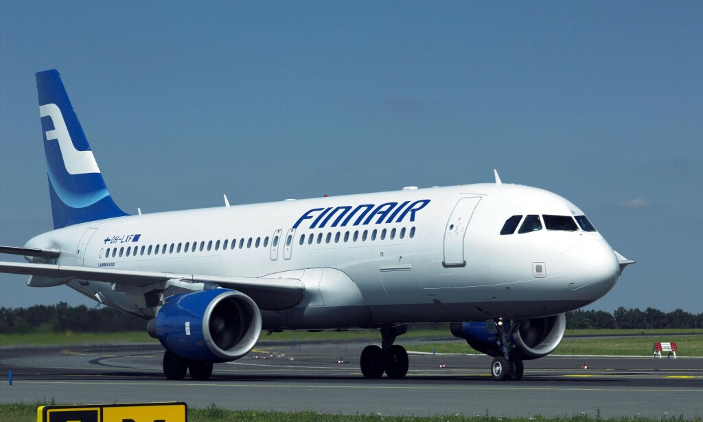 KUTTER: Finnair kutter en rekke flyvninger, deriblant til Norge. Foto: Richard Aemik / REX / NTB Scanpix