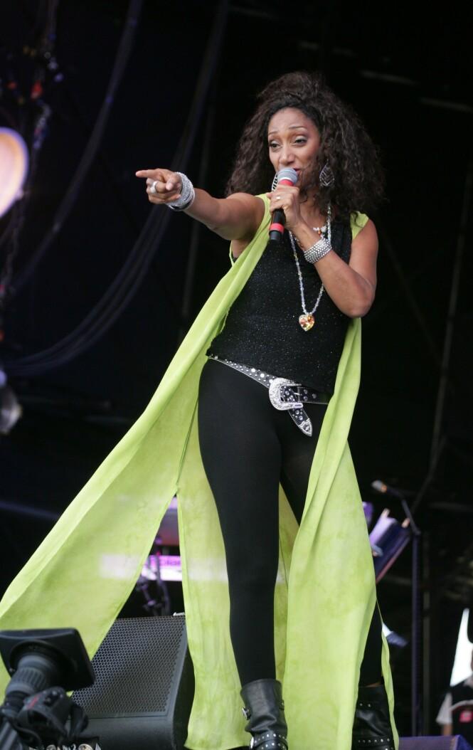 SOULDIVA: Debbie Sledge er og var stjernen i bandet, og synger nå mer ren soul og jazz. FOTO: NTB Scanpix