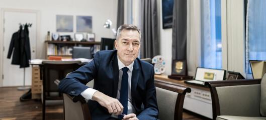 Forsvarsminister Frank Bakke-Jensen kan være corona-eksponert