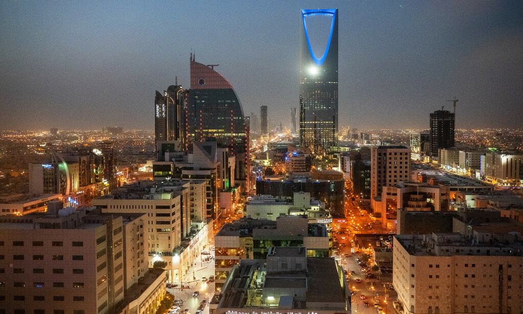 OLJEHOVEDSTAD: I Saudi-Arabias hovedstad Riyadh bestemmes det mye som påvirker oljeprisen.  Foto: Hans Arne Vedlog / Dagbladet