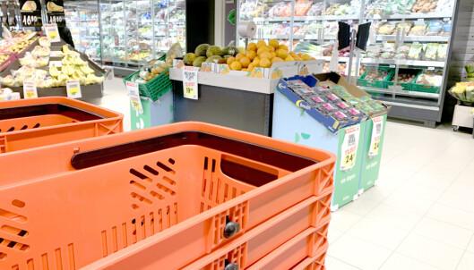 Matbutikkenes corona-tiltak