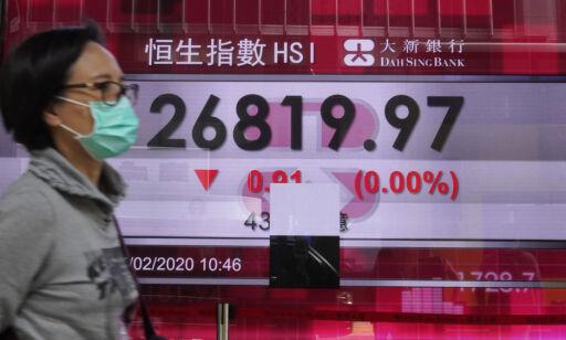 image: Nedgang på asiatiske børser