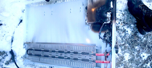 Advarer mot Biltema-ovn etter brann