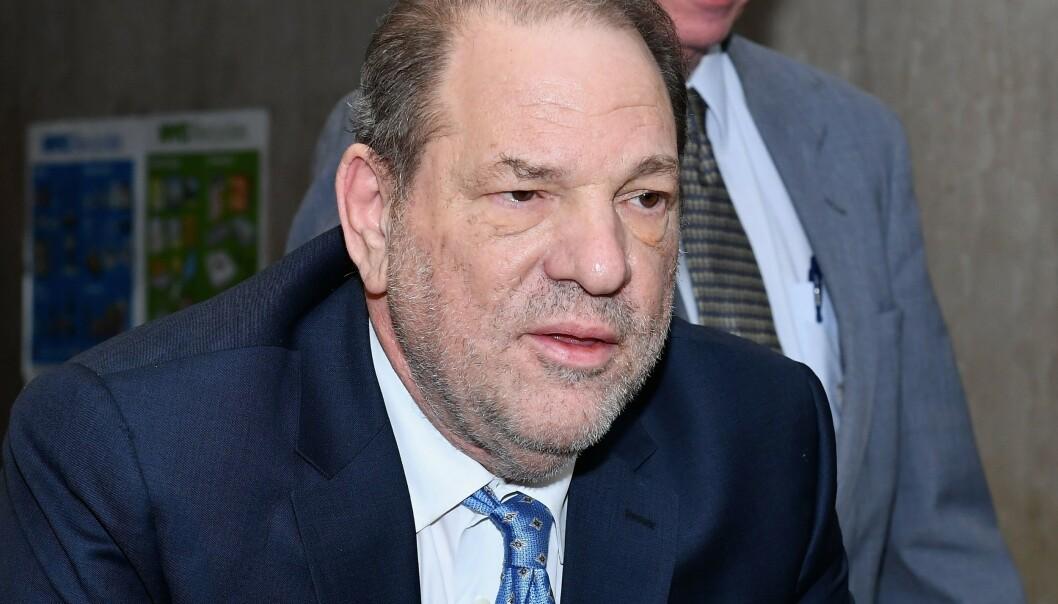<strong>SKYLDIG:</strong> Harvey Weinstein ble i februar funnet skyldig i seksuelle overgrep. Onsdag kom dommen. Foto: NTB scanpix