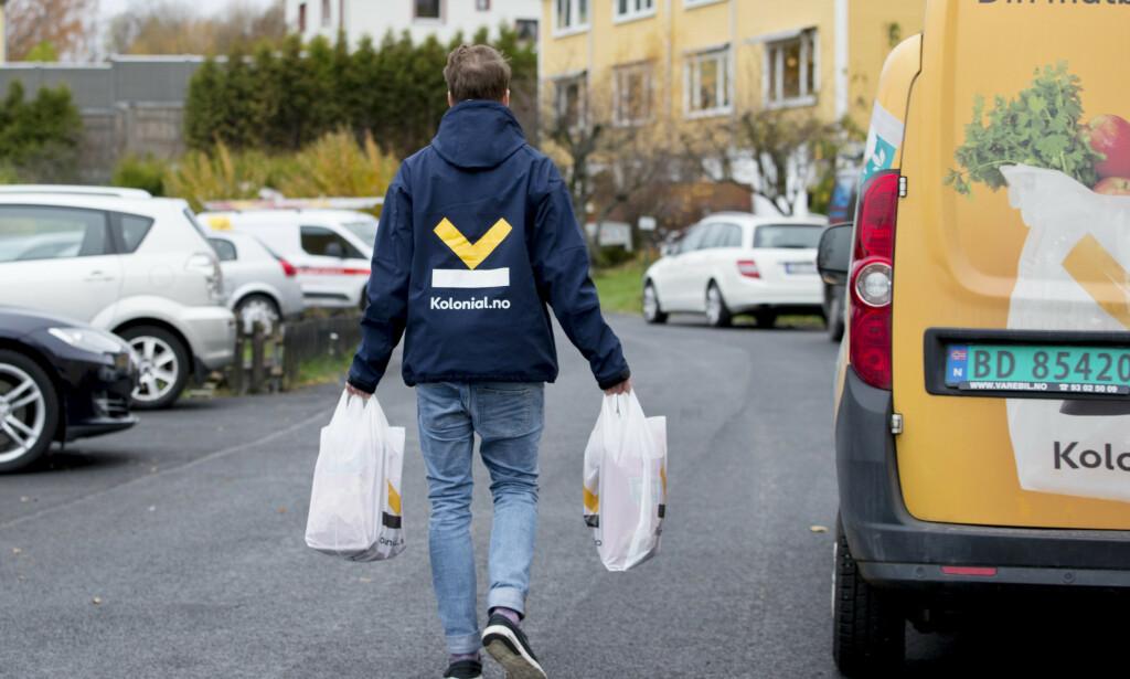 STOR PÅGANG: Nettmatbutikken Kolonial.no har opplever stor pågang under koronautbruddet. Foto: Håkon Mosvold Larsen / NTB scanpix
