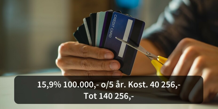 In this way, Norwegians can save NOK 4.25 billion in interest costs