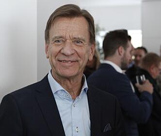 <strong>TILFREDSSTILLER KUNDENE:</strong> Konserndirektør Håkan Samuelson i Volvo vil fortsette å satse på SUV-er, så lenge det ikke kommer restriksjoner mot det. Foto: Øystein Bergrud Fossum