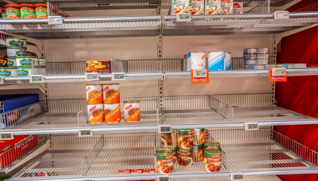 Dagligvarebransjen: – Hamstring er unødvendig