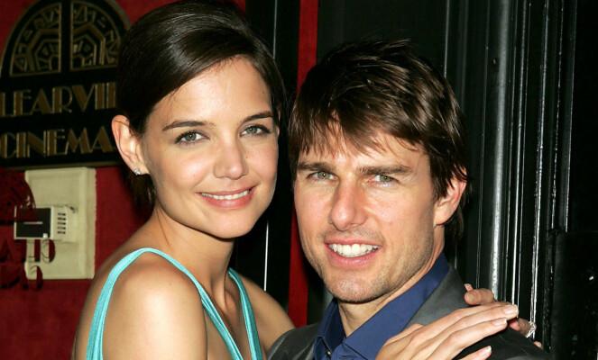 EKSPAR: Katie Holmes og Tom Cruise var gift fra 2006 til 2012, og fikk datteren Suri sammen. Her er de avbildet i 2005. Foto: NTB Scanpix