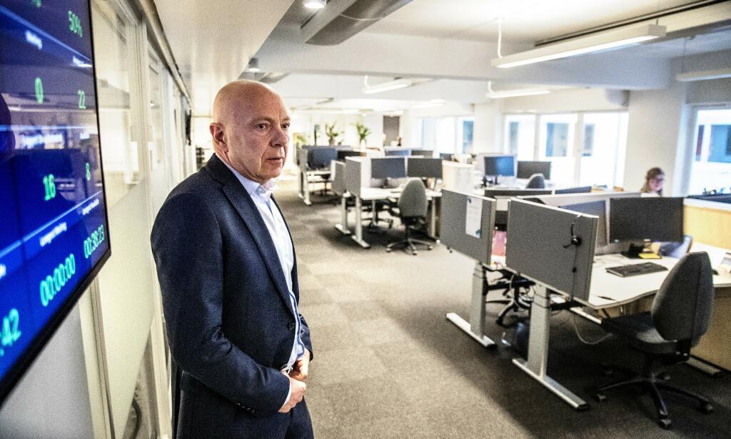 TUNGE DAGER: Per Arne Villadsen sover «over lakenet» og frykter for hele bedriftens framtid. Foto: Bjørn Langsem / Dagbladet