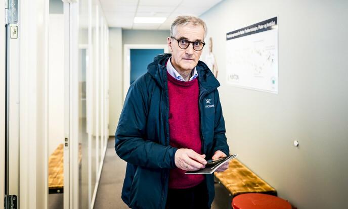 <strong>HASTER:</strong> Jonas Gahr Støre tilbød statsminister Erna Solberg superrask behandling av krisetiltak i Stortinget. Foto: John T. Pedersen / Dagbladet
