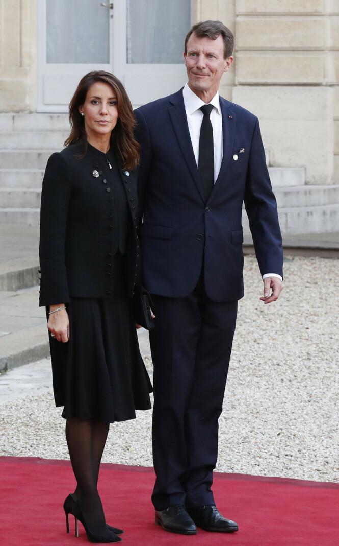 APANASJE: Det danske folket likte ikke at prins Joachim skulle ta med seg apanasjen da han flyttet til Frankrike. Her avbildet med kona prinsesse Marie. Foto: NTB scanpix