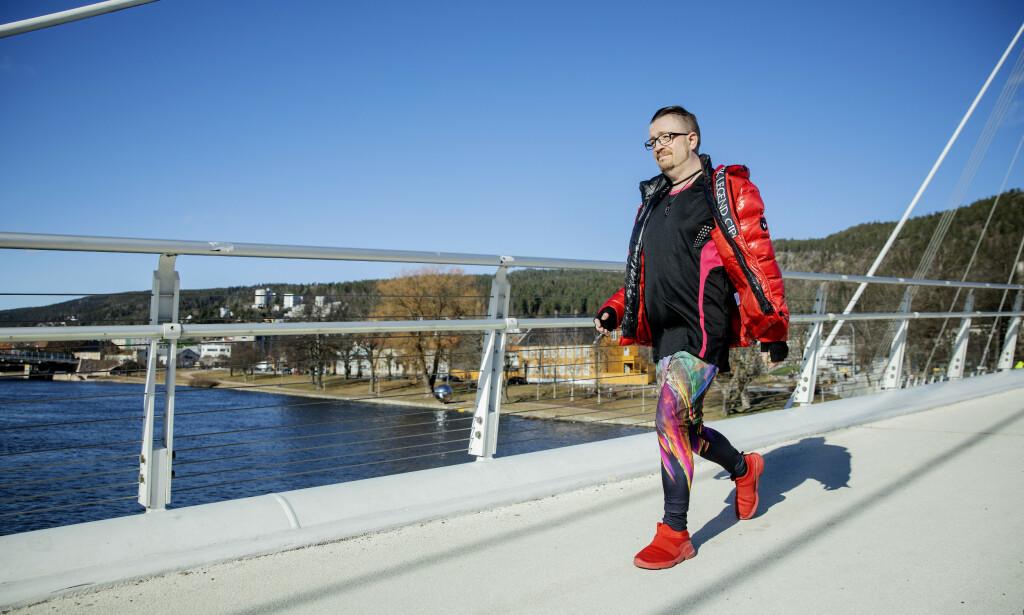 EFFEKTIV DIETT: I løpet av fem måneder har Roger Endrè Pettersen gått ned 23 kilo med enkel metode. Foto: Nina Hansen