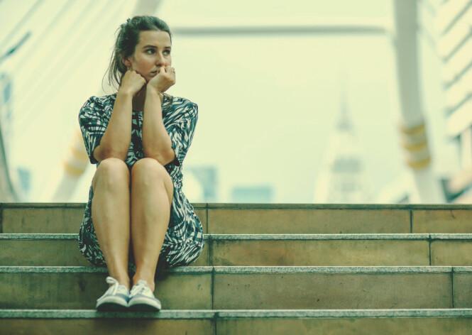 IKKE BARE DE ELDRE: - Det ikke uvanlig å kjenne på ensomhet i studietiden, forteller psykologen til KK. FOTO: NTB Scanpix