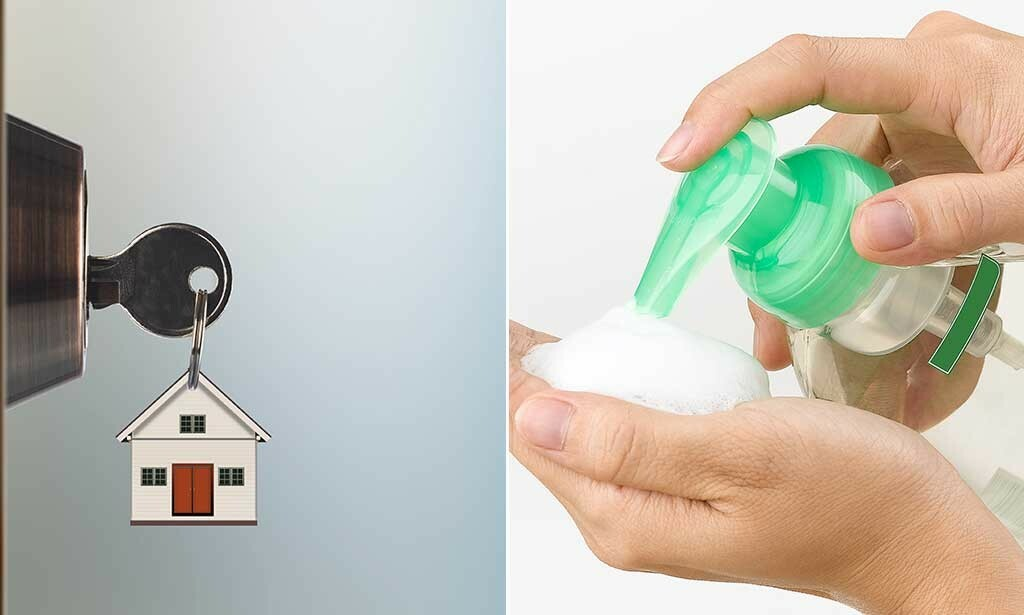 VÆR HJEMME: Er du forkjølet, bli hjemme. Vask deg ofte og grundig på hendene for å unngå smitte. FOTO: NTB Scanpix/Shutterstock