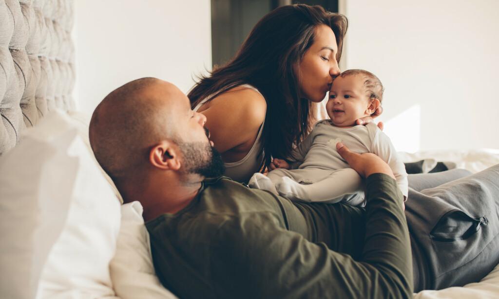 MISTER MYE SØVN: Søvnmangel det første året er helt normalt, men kan gjøre tilværelsen som nybakte foreldre ekstra krevende. FOTO: NTB Scanpix