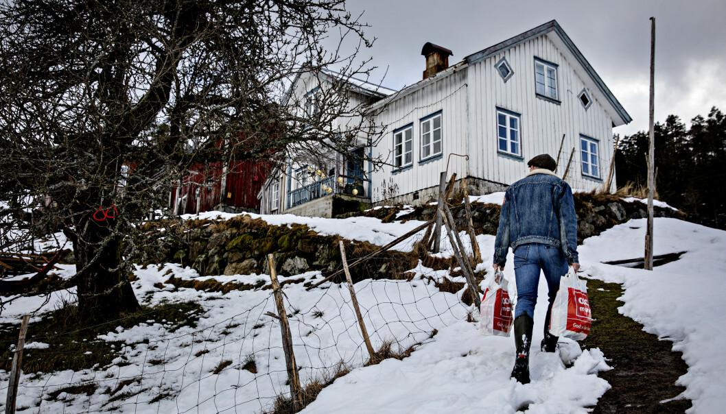 BRATT OG BORTGJEMT: Erik Alfred Tesaker er på langt nær ingen storbykar. Foto: Nina Hansen / Dagbladet
