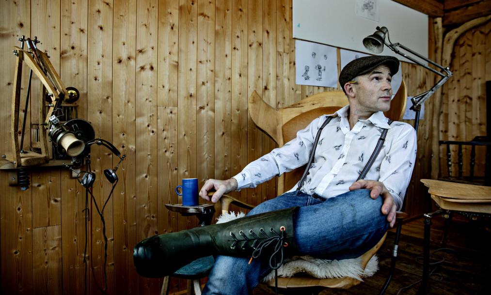 EGNE VEIER: Sørlendingen Erik Alfred Tesaker (40) har gjort seg kjent for det norske folk gjennom egen realityserie. Nå er han også blant de mest omtalte deltakerne i årets «Farmen kjendis». Foto: Nina Hansen / Dagbladet