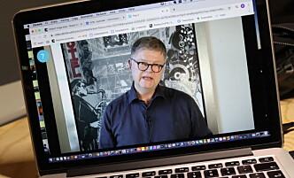 HJEMME: Konsernsjef Jacob Schram er selv i hjemmekarantene. Foto: NTB Scanpix