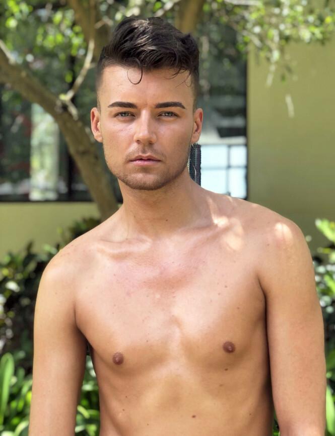 TVIST: Andreas Østerøy ble realityseriens første homofile deltaker. Foto: Ruben Pedersen