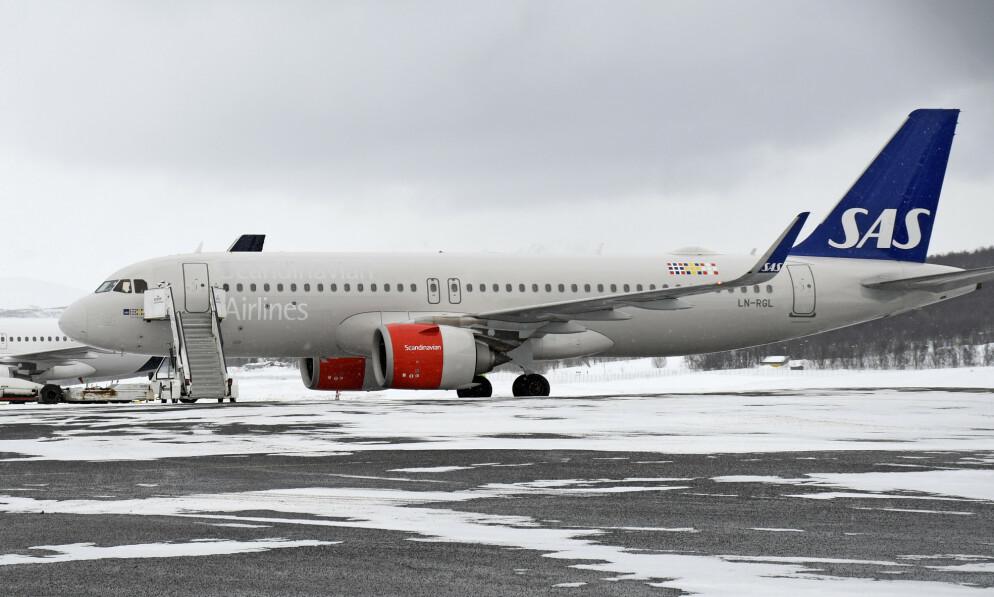 PERMITTERER: SAS permitterer omkring 200 av sine norske ansatte. Foto: NTB Scanpix