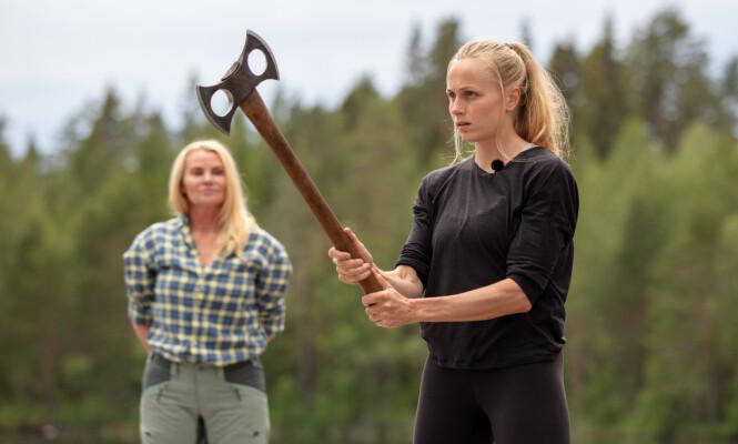 HATER Å TAPE: Som idrettsutøver kan man neppe forvente annet enn at Hege Bøkko ikke liker å tape en konkurranse. Foto: Alex Iversen/TV 2