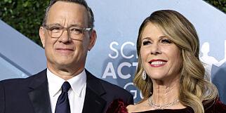 image: Smittet av Hanks' kone