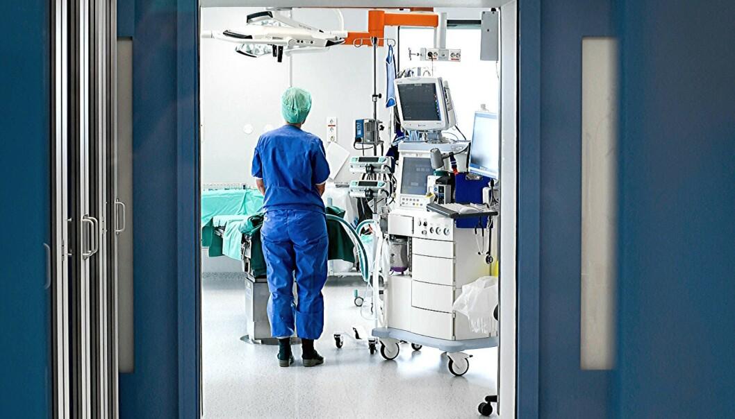 Intensiven på Helgelandssykehuset. Foto: HELGELANDSSYKEHUSET