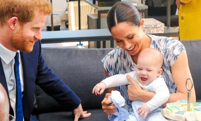 <strong>RETURNERER?:</strong> Lille Archie er ventet å bli med prins Harry og hertuginne Meghan til Storbritannia i sommer. Foto: NTB scanpix