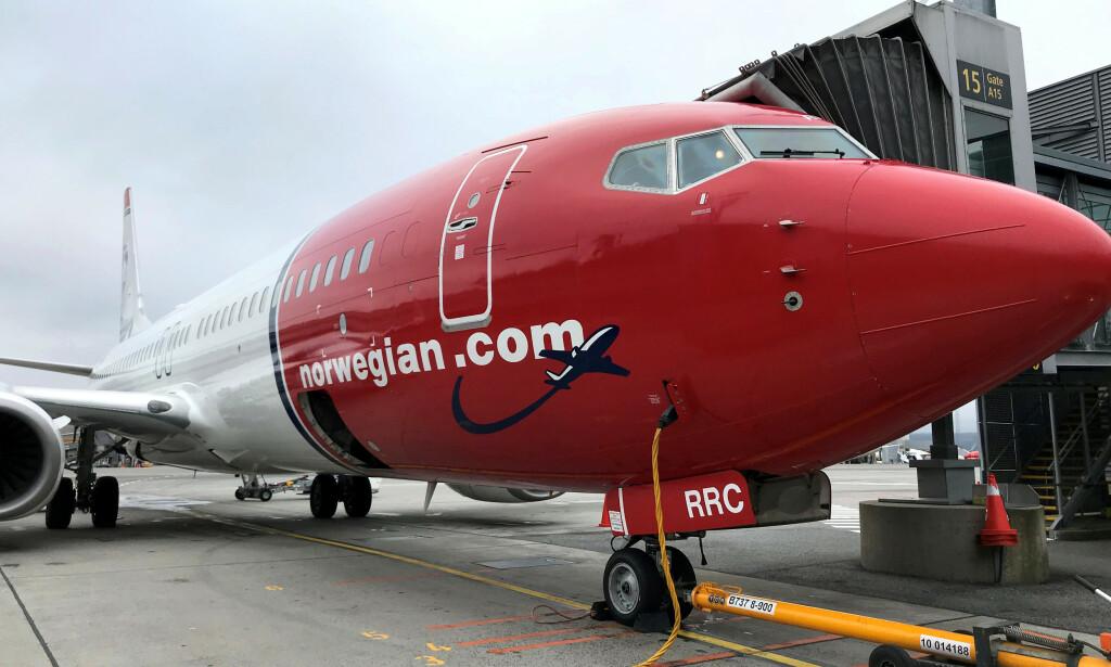 MASSEKANSELLERER: Norwegian dropper 85 prosent av flyvningene, og permitterer 7300 ansatte. Foto: Lefteris Karagiannopoulos / Reuters / NTB Scanpix