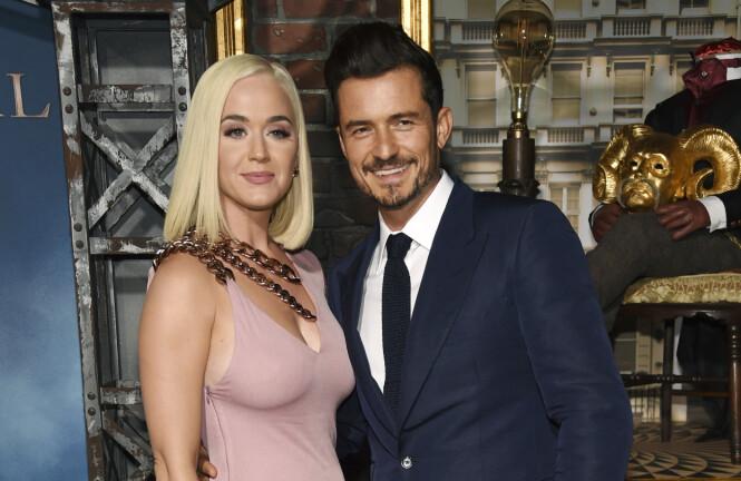 SØLIBAT: Orlando Bloom og Katy Perry fant kjærligheten i 2016, men før den tid levde Bloom i sølibat. Foto: NTB Scanpix