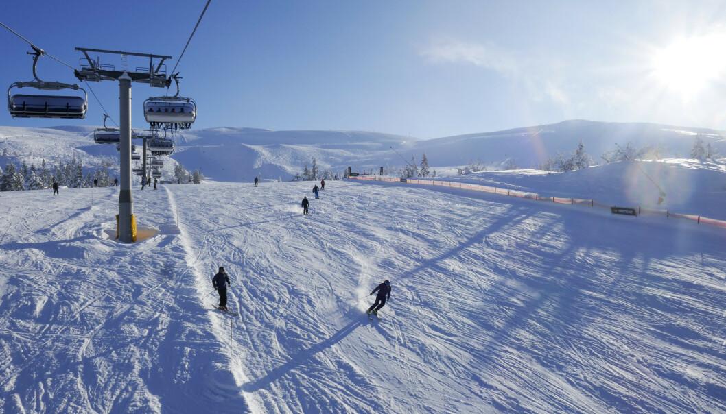 <strong>STENGT:</strong> Skisenteret i Trysil er besluttet stengt resten av sesongen. Foto: Erik Johansen / NTB scanpix