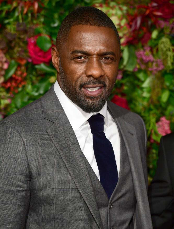 <strong>SMITTET:</strong> Skuespiller Idris Elba avslører at han har blitt smittet av coronaviruset. Foto: NTB Scanpix